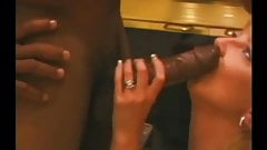 Mature Hotwife Sucking Young Black Cock Til He Nuts