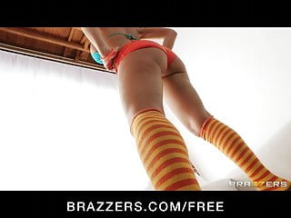 Ass tits striptease Brazzers - big-booty babe nikki sexx strips down for anal