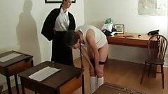 3 Schoolgirls thoroughly spanked