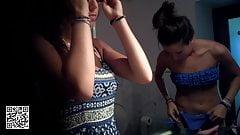 (4K never seen quality) 19YO changing bikini - preview