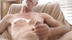 Fit old man has a big dick