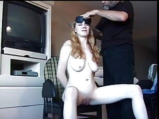 Older guy pussy cock story - Big tits hottie has her pussy teased by an older guy