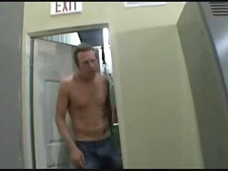 Big thick naked locker room Creampie in the locker room
