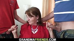 70 years old hairy pussy granny in stockings