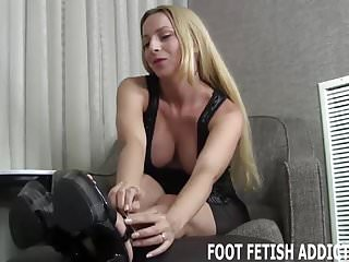 Fetish fantasy swing purple I want to make your foot fetish fantasy come true