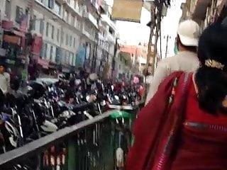 Sari sumdac teen - Huge ass sexy mom in sari jiggling
