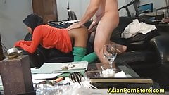 Indonesian Girl fucked by her boss