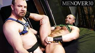 Daddy Max Sargent Fills Up Hunk's Asshole With His Cock