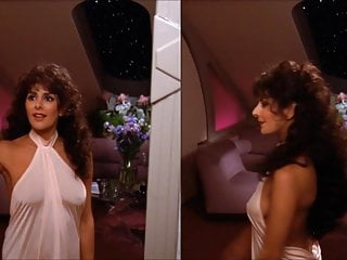 Vintage trek catalog - Marina sirtis in star trek