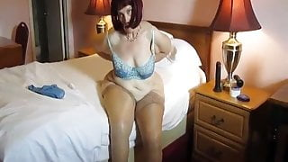 Retired teacher in one of her first vids after retirement