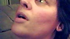becky slipp taking a facial