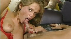 Lustful blonde wants threesome