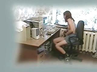 Teen computer slang Mi kinky gf fingering at computer