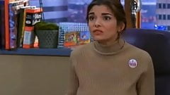 Laura San Giacoma brown turtleneck