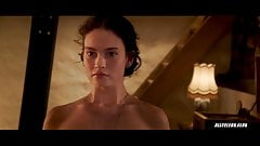 Lily James in The Exception