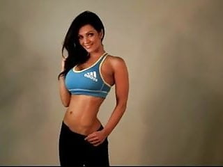 Non nude ls top sites - Denise milani in adidas top 2 - non nude