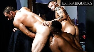 Sean Harding & His Friend Get Fucked Hard By BBC