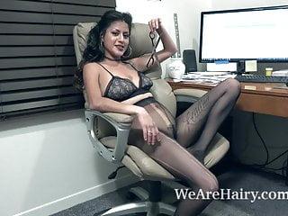 Back sit fuck Daniela flor sits back to masturbate and orgasm