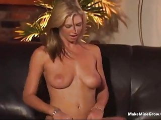 Dick contino playing Pretty blonde play her pussy and suck a black dick