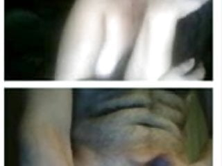 Middle fingers thumb falling asleep - Webcam middle-aged hot woman masturbate for my dick