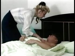 Golden cock awards Granny award n15 hairy blonde mature with a young man