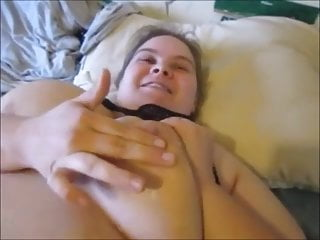 Torture my wife sex Hot wax torture on my nipples pussy with wax sex creampie