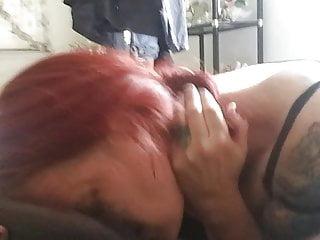 Train wife to deep throat - Throat training session 1