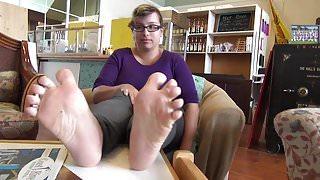Cute Girl Soles Feet