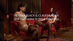 Trailer Renata Black & Claudia Rossi in HOT THREESOME