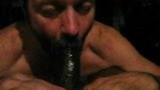 slurping on pappa's manhood