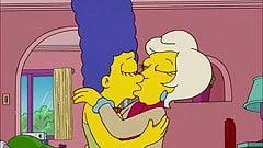 Lindsey Naegle Kiss Marge Simpson