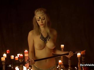 Famous witch with big tits Naked witch and the sacred sword