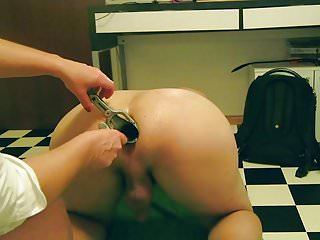 Latex piss enema Fisting, enema, nurse, doctor