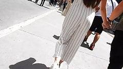 Sexy ass walking street candid voyeur