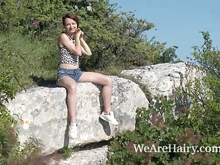 Adult shaya irie Shaya gets naked and masturbates outdoors