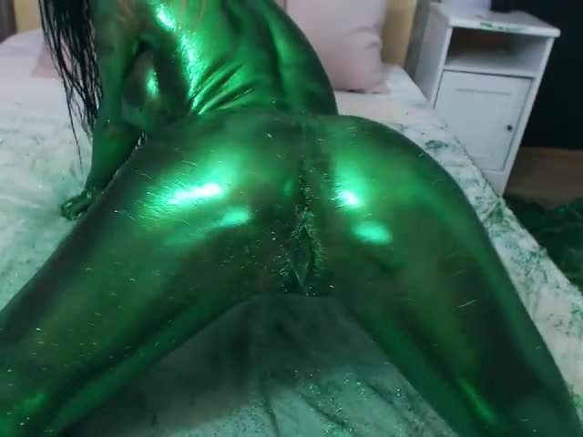 Russian Girl Masturbates Dildo