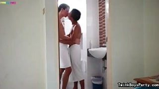 Arab and Asian on Foreplay