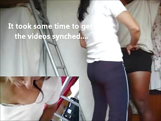 Porn ebony pictures Picture in picture with the new neighbor part 1