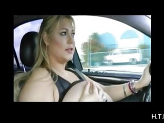 Female masturbation while driving While driving.6.h.t.b.