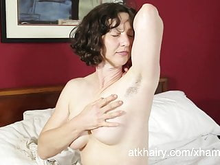 Very hairy nude girls - Hairy artemis toys her very hairy pussy