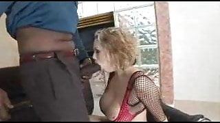 Big Tit Blonde Gets BBC