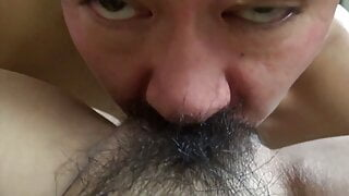 Creampie and hairy pussy – amateur porn from Japan