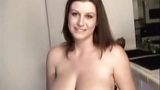 Busty amateur Sarah showing her big tits and cute pussy
