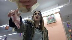 Czech Pawn Shop - Young Girl Likes to Swallow