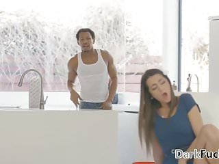 Fuck videos black american Black handyman fucks the tiny lily adams