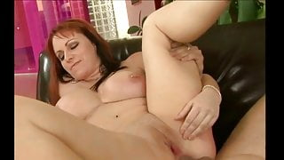 Redhead  mature blowjob and pussy fuck