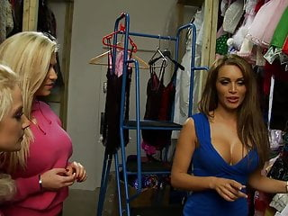 Same sex marrige laws Hungry blonde and brunette share the same cock in a warehouse