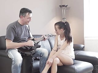 Tiffany teen games Old4k. hot sex of skinny girl and old man culminates with...