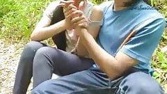 Girlfriend and boyfriend on khocha chudai..