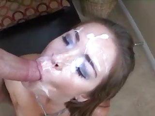 Cum painted Face cum painting compilation 2